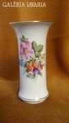 Virágos Herendi váza