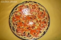 Liszkay jelzéssel elátott kerámia tányér