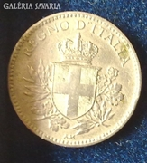 1919-es Olasz 20 cent