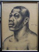 Ladányi Imre ( Emory ) 35x26 cm szénrajz
