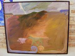 Czétényi János 100x120 cm plextoll-farost