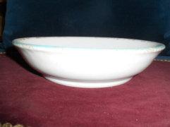Antik kerámia mély tányér
