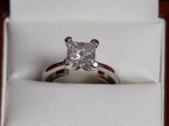 Diamond Stone Ring