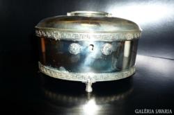 Historizáló  ezüst CUKORDOBOZ 511 gramm