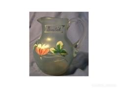 AC85 R5 Antik üveg kis váza