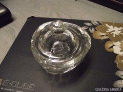 Káprázatos csiszolt üvegsziv bonbonier