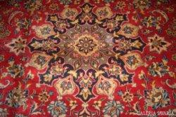 KURIÓZUM!! EXTRÉM RITKA!Extra luxus mélybordó Barokk  kézicsomózású perzsaszőnyeg orig.Irán 315x210
