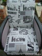 Felújított Retro rumba fotel