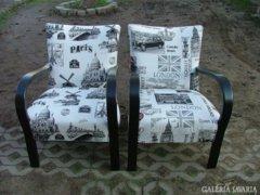 Felújított régi, retró fotelek