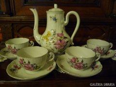 Herendi antik teás készlet