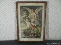 5299 Antik aranyozott vágható fotókeret 24 x 36 cm