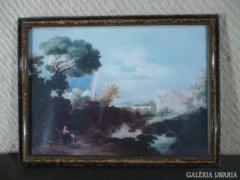 5275 Antik vágható keret fényképkeret 26,5 x 36,5