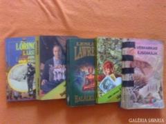 Akció!! Leslie L. Lawrence könyvek!!