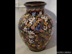 U974 A7 Nagy méretű vásárhelyi kerámia váza