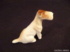 Y321 G3 Régi porcelán mini kutya foxi