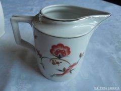 Régi zsolnay nagyméretű tej kiöntő