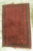 AC46 R5 Antik Afgán szőnyeg elefánttalp mintás