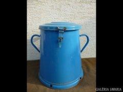 1051 T0 Régi kék zománcozott zsírosbödön 20 liter