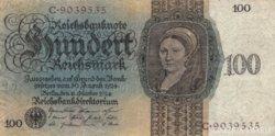 Német 100 Reichsmark 1924
