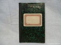 4105 J4 Antik viaszpecsétes szegedi notesz jegyzet