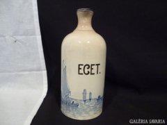 3246 J10 Antik holland mintás ecetes palack