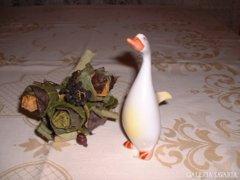 Hollóházi porcelán liba