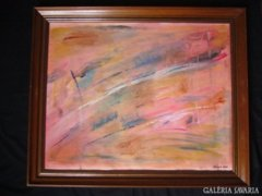 Sergio Valmir Bosa: VISION PINK 78 X 64 cm