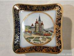 3907 Régi porcelán bonbonier Maria Zell -ből