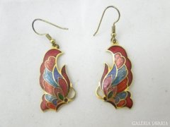 5547 Divatos színes ékszer női függő fülbevaló pár