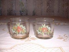 Retró pohár 2 db