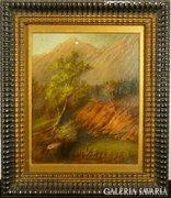 G123 Gyönyörű antik hegyvidék jelzetlen