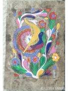 8286 Jelzett művészi akvarellek albumban 11 db
