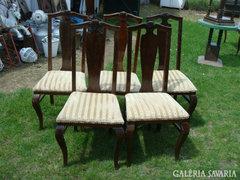 Öt db.polgári szék.