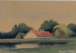 Wallburg Egon (Zórád Ernő) : Tanya 1929