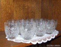 Kristály vizes pohár 12db