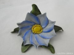 6332 Herendi porcelán virág vitrindísz