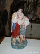 Szovjet porcelán páros figura