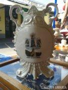 Porcelán emlék váza