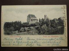 Német Mindelheim (dombornyomás)    1902     RK