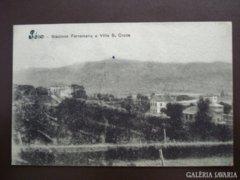 Sasso stazione Ferroviaria e villa s croce   kb1930     RK
