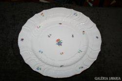 Herendi virágos gyönyörű tányér