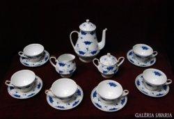 Kolozsvári porcelán teás szervíz