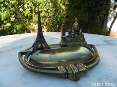 Régi francia hamutál Párizs nevezetességeivel