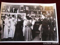 IZABELLA Főherzeg asszony Budapest korabeli sajtó fotó 1916