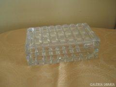 Különleges kristály üveg doboz