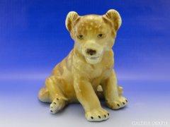 0A057 Régi Rosenthal jellegű oroszlánkölyök