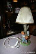 Kerámia asztali lámpa ksifiúval