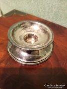 Kicsi ezüst gyertyatartó