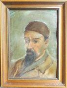 Farkas Istvánnak tulajdonítva: (1887-1944):  Férfiportré