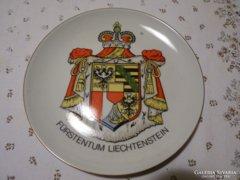 Ilmenau antik német porcelán fali tálka